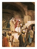 Samuel Anointing David in the Midst of His Brethren