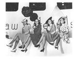 Nylon Publicity Photo  New York World&#39;s Fair  1939 (B/W Photo)