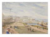 Ramsgate  West Cliff  1857 (W/C on Paper)
