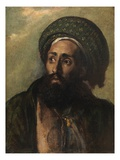A Mohammedan (Oil on Board)