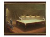 Billiard Match at Thurston  1930