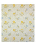 Powdered Wallpaper Design  1874