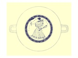 Artemis with Bow  Arrow and Torch  Illustration from 'Greek Vase Paintings'