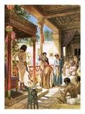 Judah Pleading before Joseph for His Brother Benjamin