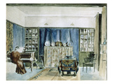 Interior of Kelmscott Manor (W/C on Paper)