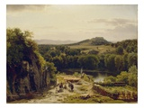 Landscape in the Harz Mountains  1854