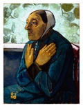 Old Peasant Woman  C1905 (Oil on Canvas)