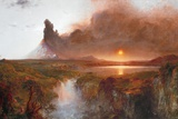 Cotopaxi  1862 (Oil on Canvas)