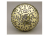 Bowl  6th-7th Century Ad (Gilded and Carved Silver)