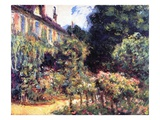 Giverny  the House from the Garden  1913 (Oil on Canvas)