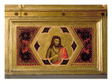 John the Baptist  from the Coronation of the Virgin Polyptych (Middle Left Predella)