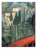 Landscape  South of France  1919 (Oil on Canvas)