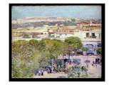 Place Centrale and Fort Cabanas  Havana  1895 (Oil on Canvas)