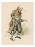 Fagin  Illustration from &#39;Character Sketches from Charles Dickens&#39;  C1890 (Colour Litho)