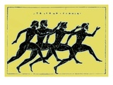 Race  Illustration from &#39;History of Greece&#39; by Victor Duruy  Published 1890