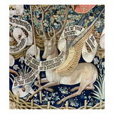 The Winged Deer (Tapestry) (Detail of 95771)