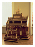 Bureau Incorporating a Mechanical Organ by Heinrich Gambs (1765-1831)  St Petersburg  1795-1815