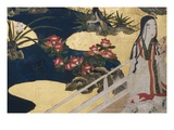 Detail of Spring in the Palace  Six-Fold Screen from &#39;The Tale of Genji&#39;  C1650