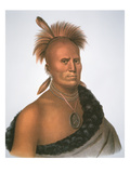 Chief Sharitarish  1821 (Colour Litho)