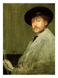 Arrangement in Grey: Portrait of the Painter  c1872
