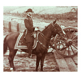 General William T Sherman (1820-91) in Atlanta  Ga (B/W Photo)