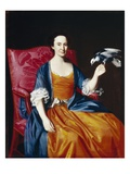 Mrs Benjamin Hallowell  1766/67 (Oil on Canvas)