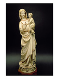 Virgin and Child  13th Century (Ivory)