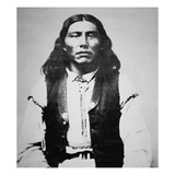 Naiche (D1874) Chief of the Chiricahua Apaches of Arizona (B/W Photo)
