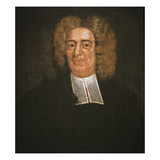 Cotton Mather (Oil on Canvas)