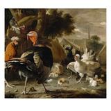 Poultry Yard  c1668