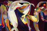 Dances  1914/15 (Oil on Canvas)