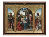 Adoration of the Magi  C1525 (Oil on Oak Panels)