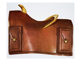 Pony Express Saddle (Leather)