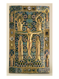Book Cover  Limoges  Early 13th Century (Wood  Copper Gilt and Enamel)