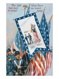 Memorial Day Postcard  C1900 (Colour Litho)