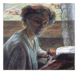 Woman Reading  1909 (Oil on Canvas)