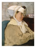 Woman with a Bandage  C1872 (Oil on Canvas)