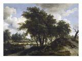 The Cottage  C1663 (Oil on Oak Panel)