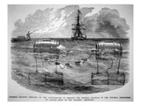 Infernal Machine Designed by the Confederates to Destroy the Federal Flotilla in the Potomac