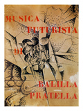 Design for the Cover of &#39;Musica Futurista&#39; by Francesco Balilla Pratella (1880-1955)  1912