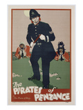 Poster Advertising 'The Pirates of Penzance'  C1930 (Colour Litho)