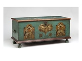 Painted Chest  C1790 (Painted Pine)