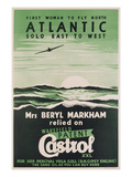 Poster Advertising 'Castrol' Oil  C1938 (Colour Litho)