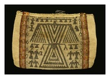 Storage Bag  Potawatomi  C1890 (Cotton Twine and Wool Yarn) (See also 340992)