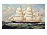 Clipper Barque 'Clendovey' (Oil on Canvas)