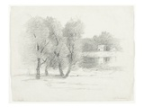 Landscape  Late 19th-Early 20th Century (Pencil on Paper)