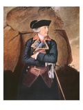 Admiral Richard Howe (Colour Litho)