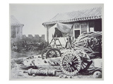 Chinese Cannon Captured During the Anglo-French Assault on Peitang in August 1860
