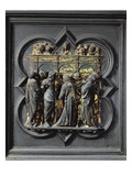 Pentecost  Twentieth Panel of the North Doors of the Baptistery of San Giovanni  1403-24 (Bronze)