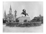 Jackson Square  New Orleans  C1890 (B/W Photo)